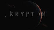 Krypton title card - Pilot