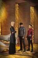 Nyssa-Vex, Seg-El and Lyta-Zod promo image