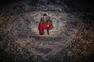 Seg-El with Superman's cape promo image 2