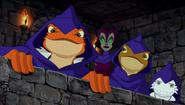 Darrel, Xava and Dingo with Lady Falgha