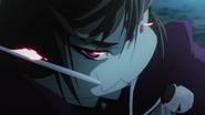 Kumoko imaging herself as an assasin anime ep3