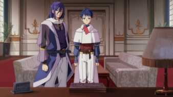 King Meiges decision anime ep 10