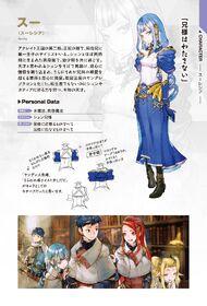 Sue Character Profile Japanese Light Novel Ex