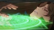 Ronandt healing an injured Buirimus anime ep10