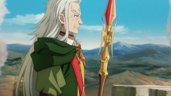 Ronandt overlooking the battlefield anime ep10