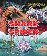 Shark VS spider