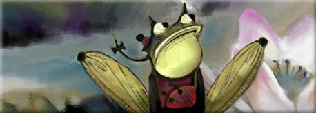 Master Frog painting