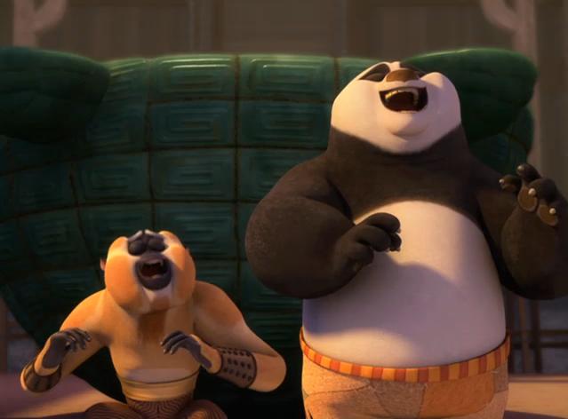 Kung Fu Panda Po Monkey Laugh.png