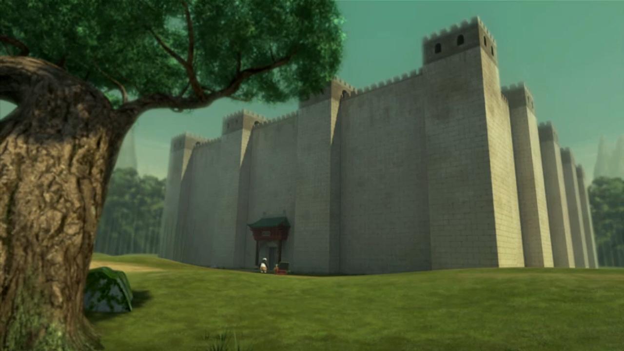Tsin's fortress