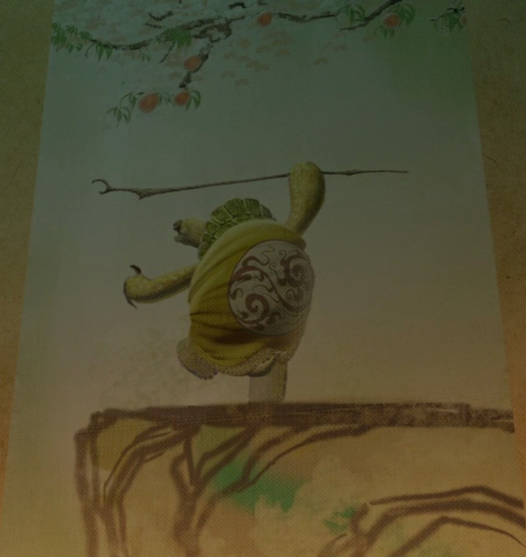 Master Oogway painting