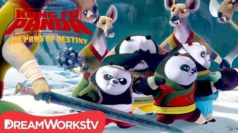 Panda Kids in Trouble - Kung Fu Panda Paws of Destiny (2018)