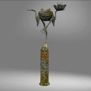 Master Frog statue