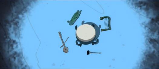 Wu Di instruments