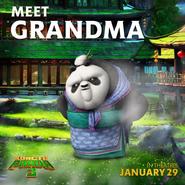 Grandma-panda