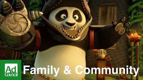 Kung Fu Panda 3 (Spanish) Fatherhood Involvement Ad Council