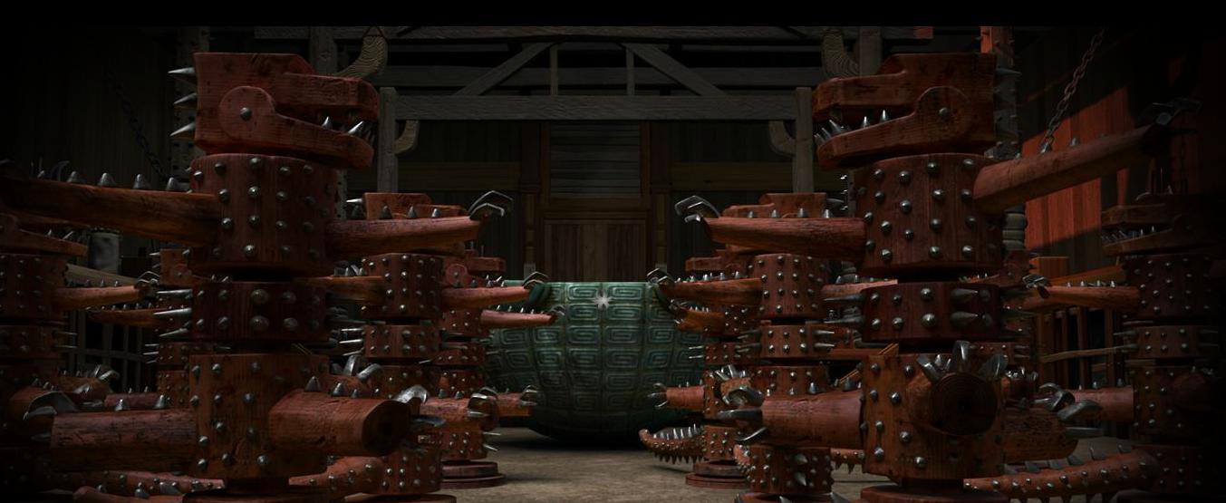 Gauntlet of Wooden Warriors