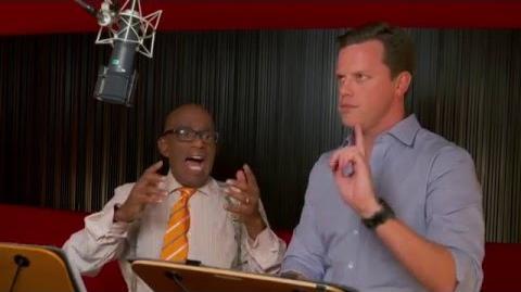 "Kung Fu Panda 3 ""Dim and Sum"" On-Set Interview - Willie Geist & Al Roker"