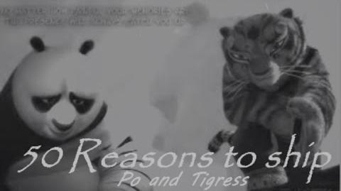 50 reasons to ship Po and Tigress aka Tipo-1452118649