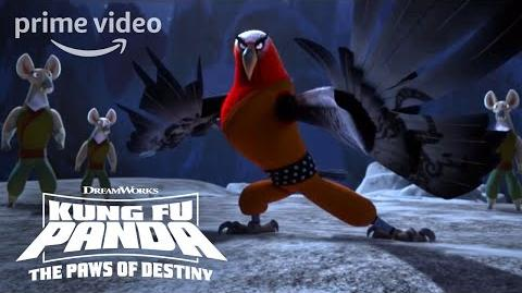 Jindiao Opens the Cave - Kung Fu Panda Paws of Destiny (2018)