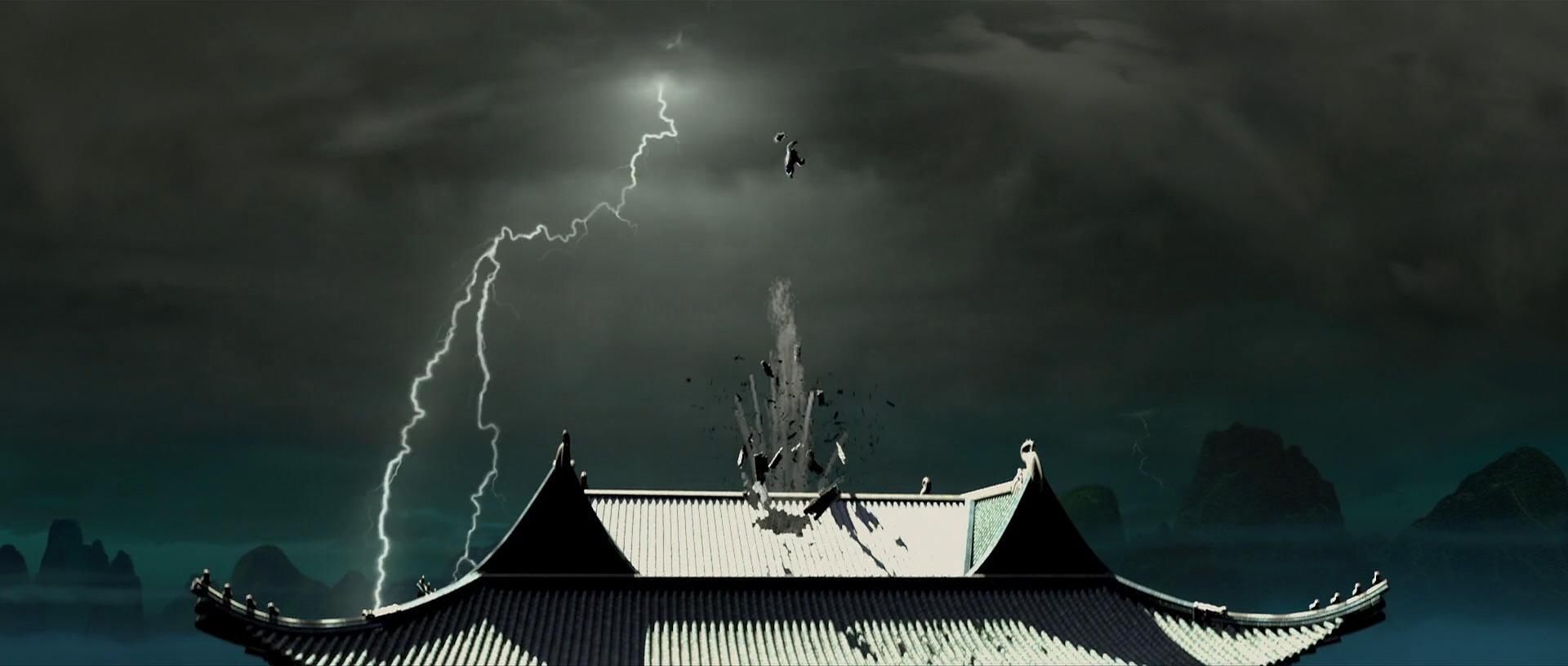 Battle between Shifu and Tai Lung