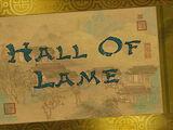Hall of Lame/Transcript