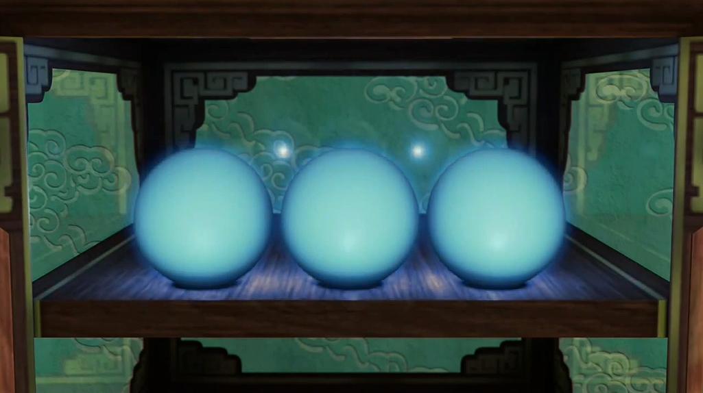 Ding's spirit orbs