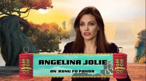 Angelina Jolie - KFP2 interview