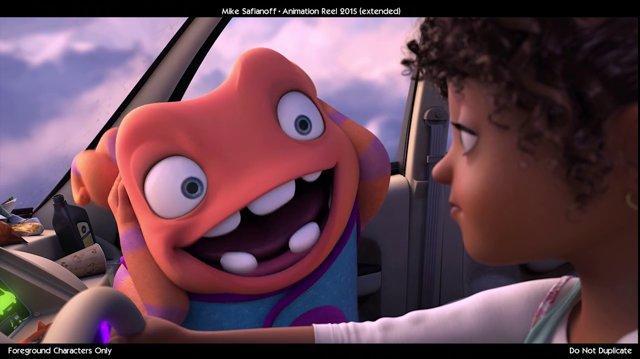 Mike safianoff animation reel 2015