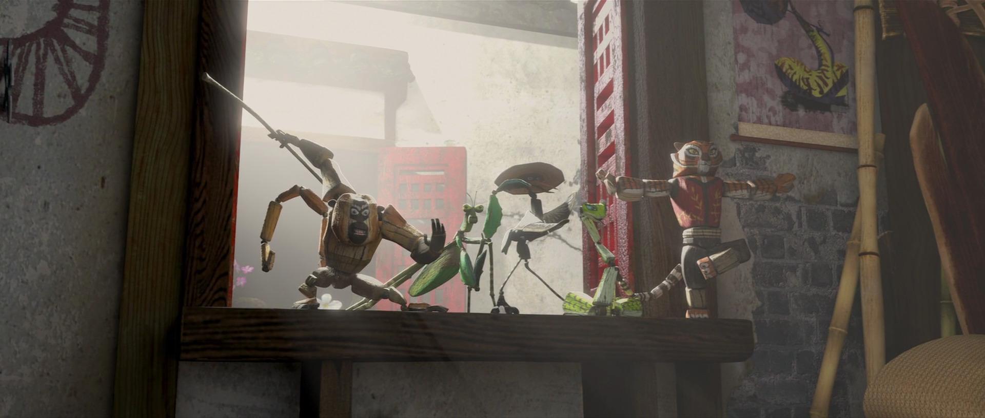 Furious Five action figures