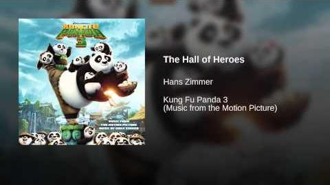 The Hall of Heroes - 06 KFP3 soundtrack