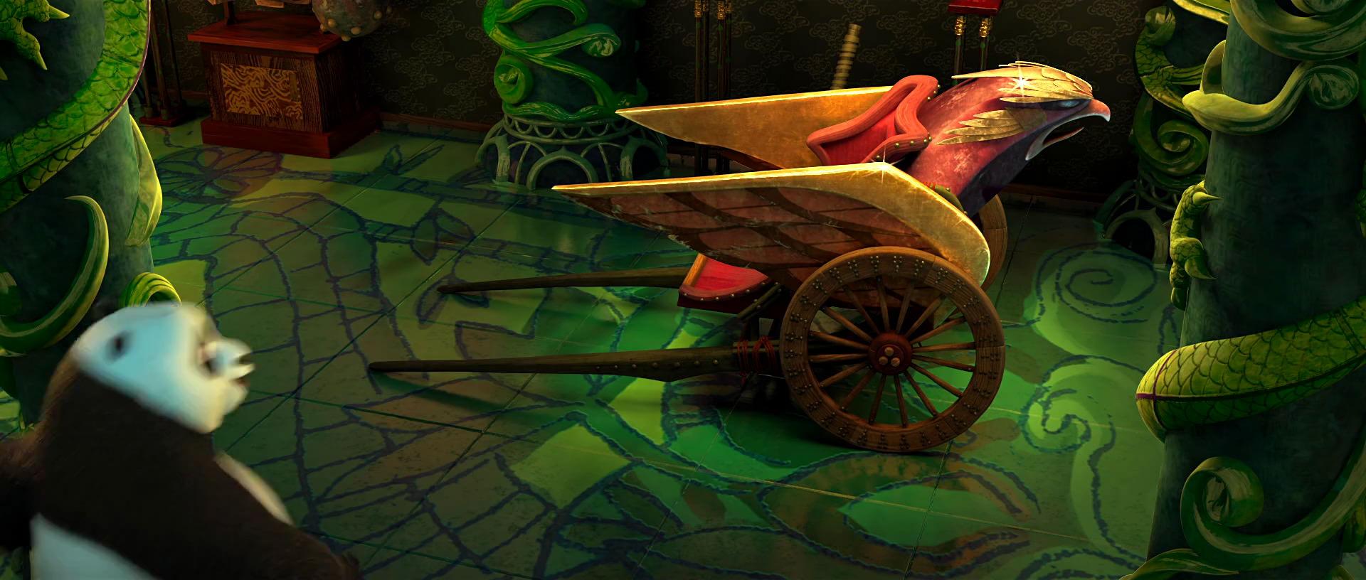 Emperor Hawk's battle rickshaw