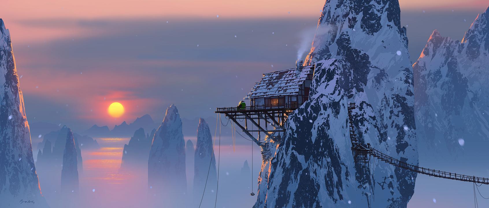 Li's hut