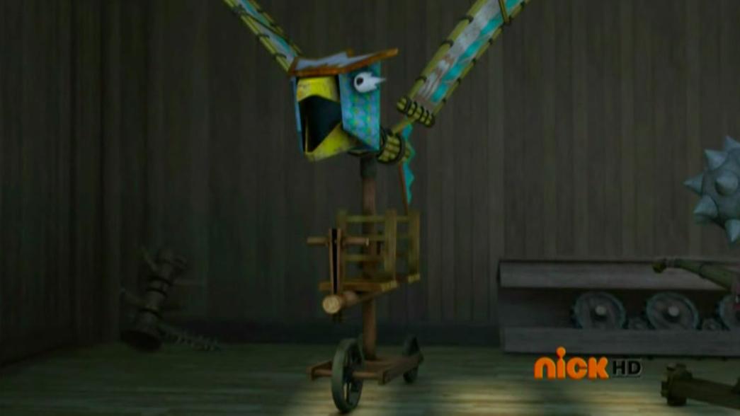 Flying Bamboo Bird of Incalculable Retribution