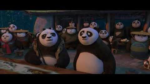 Battle of Panda Village - Kung Fu Panda 3 (2016)