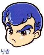 Riki face artwork DNMEx