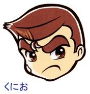 Kunio face artwork DNMEx