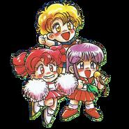 Mami, Hasebe and Momozono DNBM