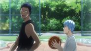 Aomine & Kuroko streetball memory