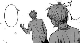 Haizaki's warning to Kuroko