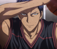 Aomine returned to his former self