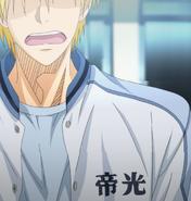 Kise as he passes Seirin