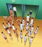 Seirin vs Shutoku match end