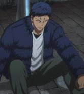 Aomine telling his feeling to Kuroko