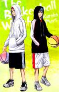 Kuroko and Akashi Fan Book