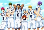 Teiko All-Star team