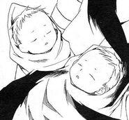 Baby Sara and Yelshi