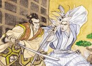 Iaijutsu Duel by Joseph Phillips
