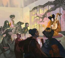 Acclaimed Geisha House by Ruwen Liu.jpg