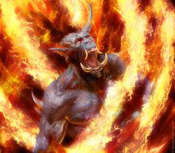 Consumed by Five Fires by Antonio José Manzanedo.jpg