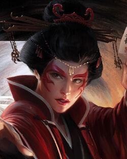 Scorpion Clan Priestress by Darren Tan.jpg